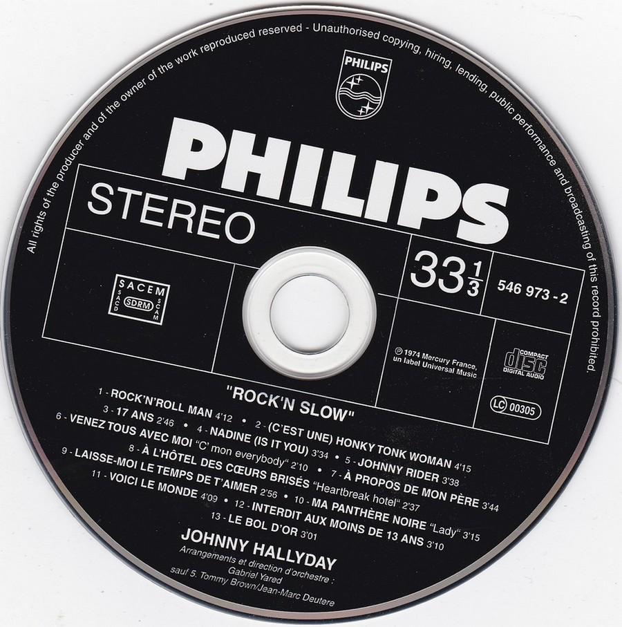 COLLECTION DES 40 ALBUMS CD ( UNIVERSAL )( 2000 ) 2EME PARTIE 1974_r14