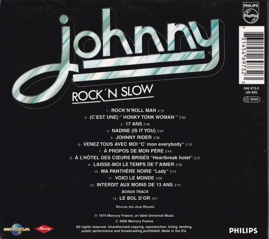 COLLECTION DES 40 ALBUMS CD ( UNIVERSAL )( 2000 ) 2EME PARTIE 1974_r28