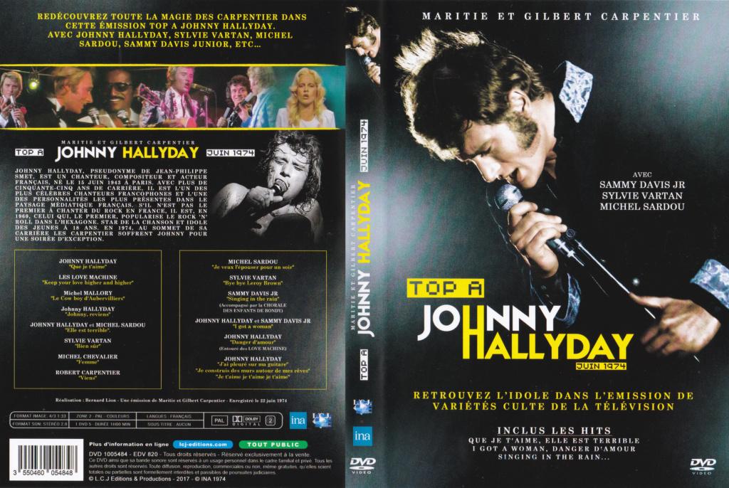JAQUETTE DVD EMISSIONS TV , DOCUMENTS ,COMPILATIONS , ETC ( Jaquette + Sticker ) 1974_t11