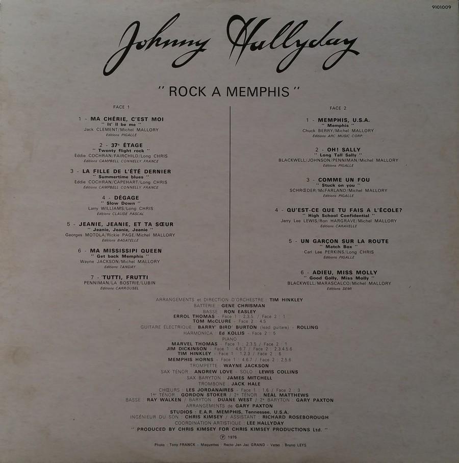 ROCK A MEMPHIS ( 33 TOURS )( TOUTES LES EDITIONS )( 1975 - 2020 ) 1975_213