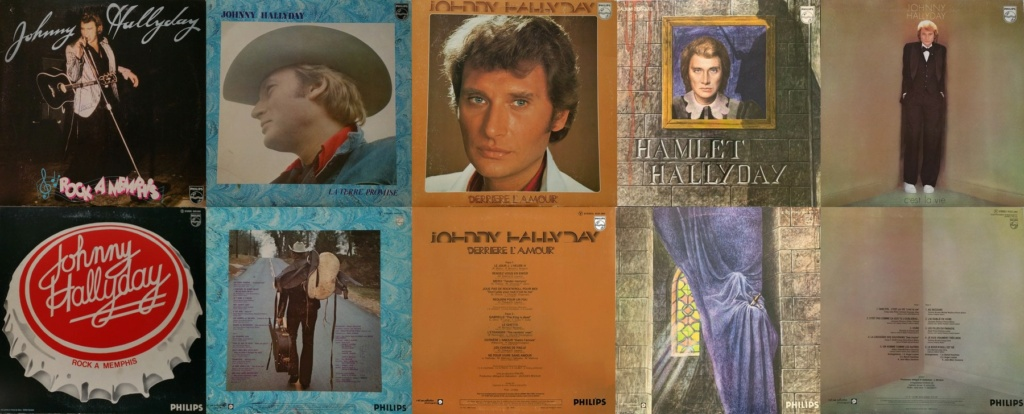 RECAPITULATIF DES ALBUMS STUDIO 33 TOURS OFFICIELS ( 1960 - 2017 ) 1975_224