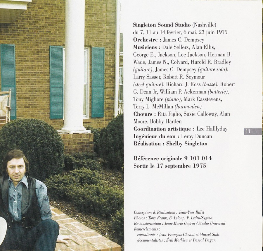 COLLECTION DES 40 ALBUMS CD ( UNIVERSAL )( 2000 ) 2EME PARTIE 1975_l58