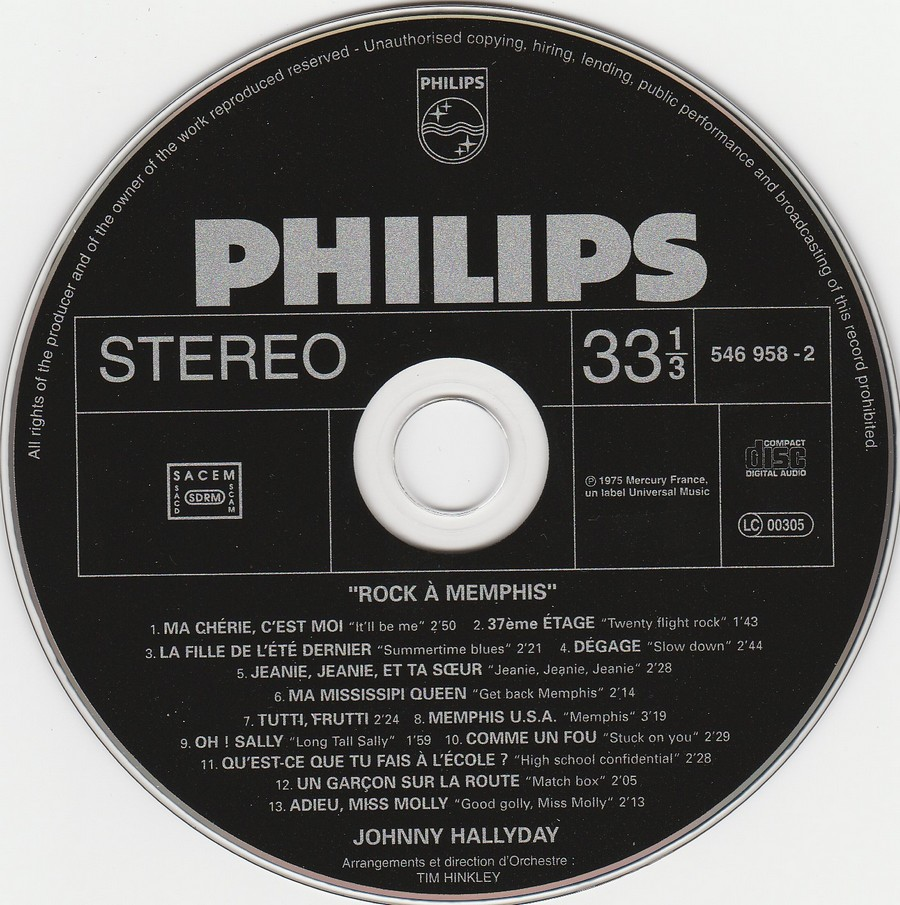 COLLECTION DES 40 ALBUMS CD ( UNIVERSAL )( 2000 ) 2EME PARTIE 1975_r12