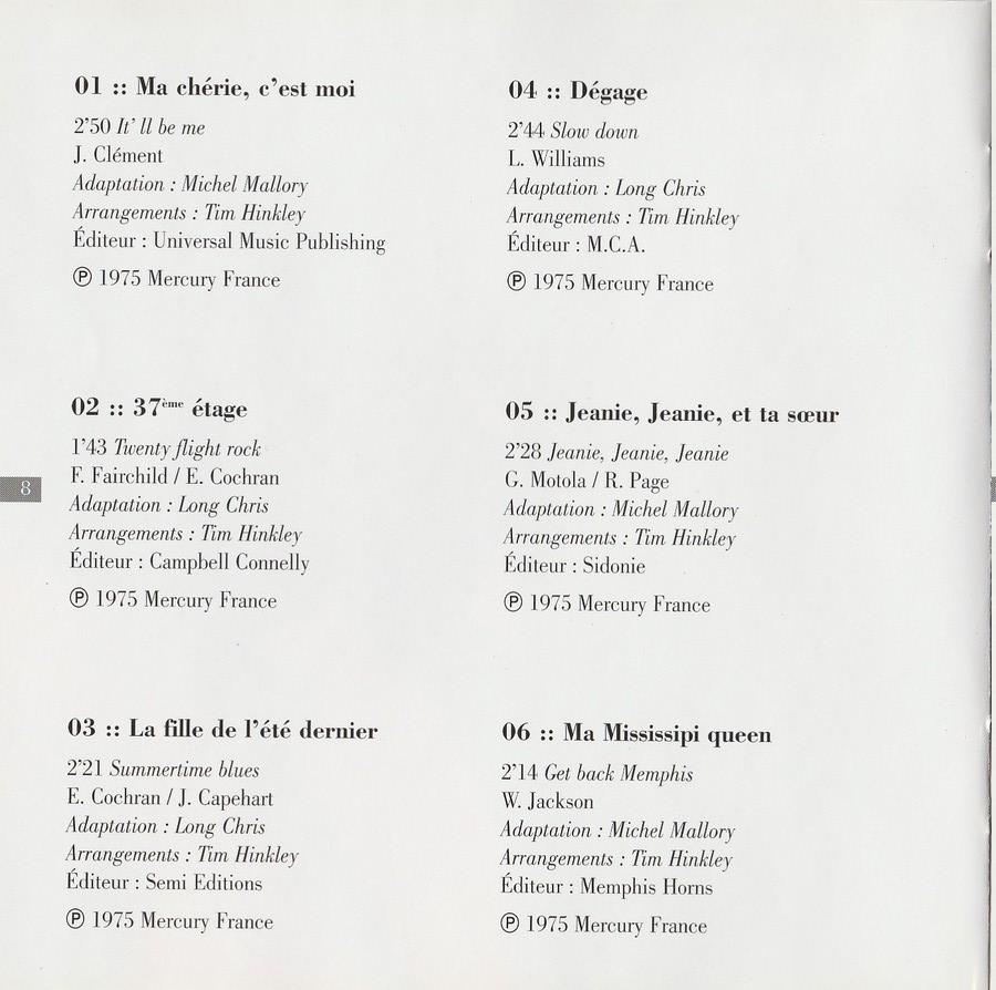 COLLECTION DES 40 ALBUMS CD ( UNIVERSAL )( 2000 ) 2EME PARTIE 1975_r22