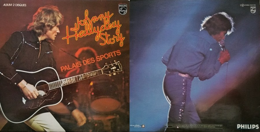 LES CONCERTS DE JOHNNY 'PALAIS DES SPORTS DE PARIS 1976' 1976_347