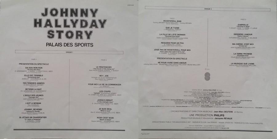 LES CONCERTS DE JOHNNY 'PALAIS DES SPORTS DE PARIS 1976' 1976_348
