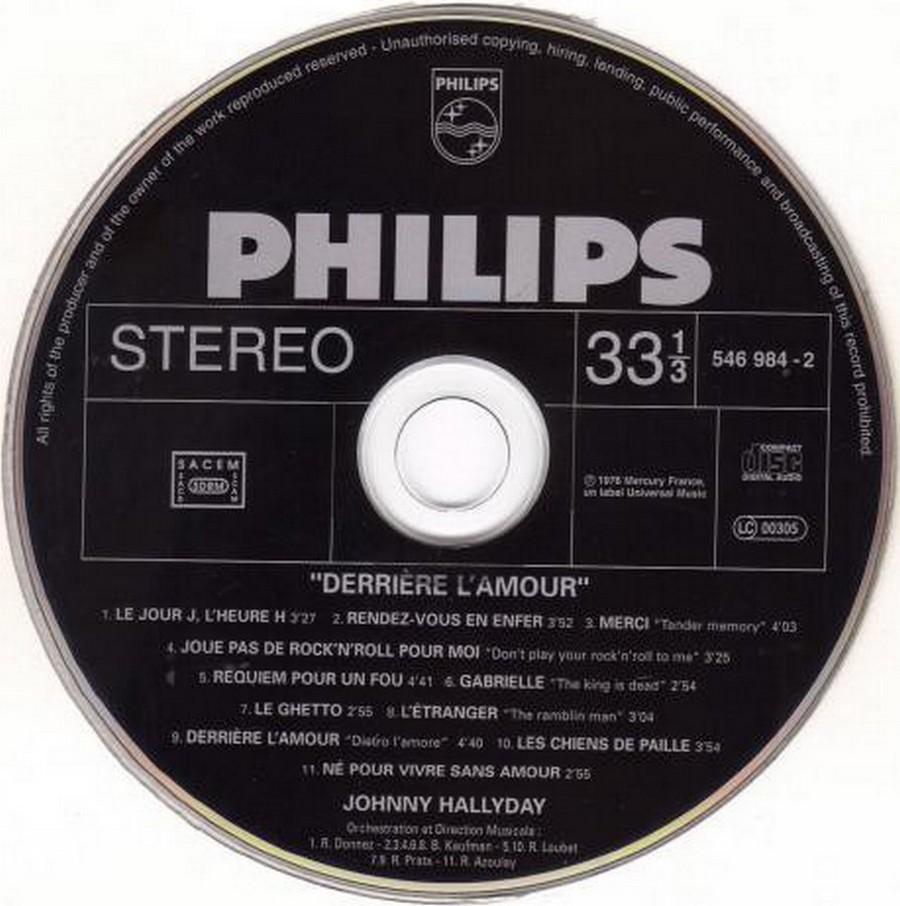 COLLECTION DES 40 ALBUMS CD ( UNIVERSAL )( 2000 ) 2EME PARTIE 1976_d11