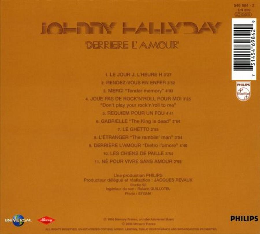 COLLECTION DES 40 ALBUMS CD ( UNIVERSAL )( 2000 ) 2EME PARTIE 1976_d25