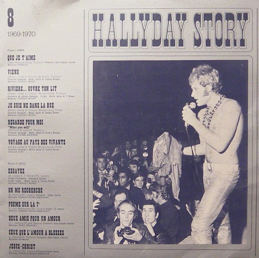 COFFRET HALLYDAY STORY ( 10LP )( PHILIPS )( 1976 ) 1976_h44