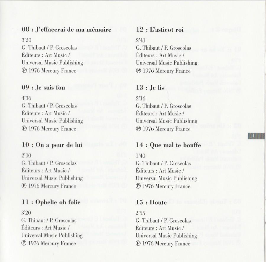 COLLECTION DES 40 ALBUMS CD ( UNIVERSAL )( 2000 ) 2EME PARTIE 1976_h75