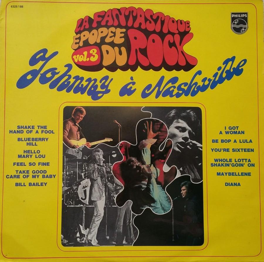 JOHNNY HALLYDAY A NASHVILLE ( 33 TOURS )( TOUTES LES EDITIONS )( 1968 - 1982 ) 1976_j12