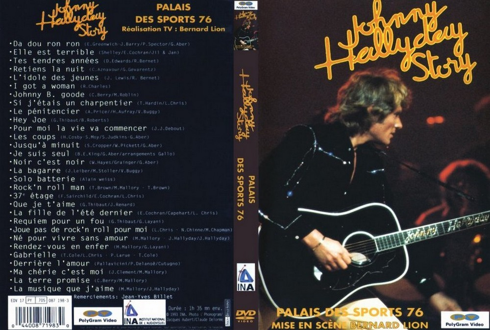 LES CONCERTS DE JOHNNY 'PALAIS DES SPORTS DE PARIS 1976' 1976_p13