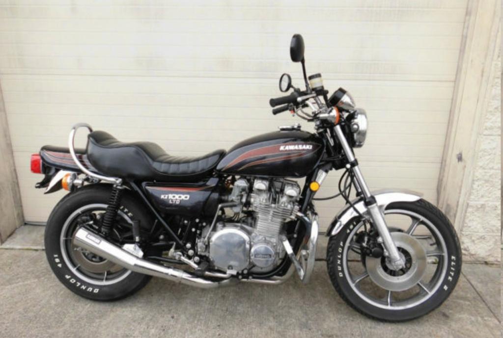 KAWASAKI KZ 1000 LTD DE JOHNNY HALLYDAY ( 1978 ) 1977-k11