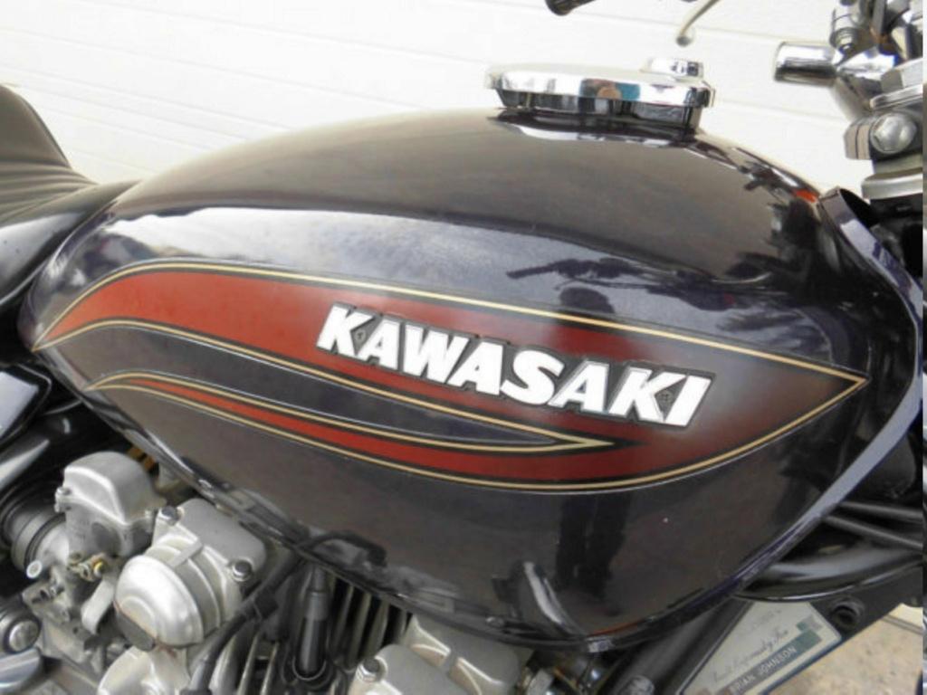 KAWASAKI KZ 1000 LTD DE JOHNNY HALLYDAY ( 1978 ) 1977-k28