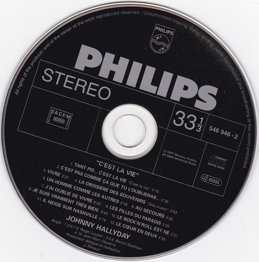 COLLECTION DES 40 ALBUMS CD ( UNIVERSAL )( 2000 ) 2EME PARTIE 1977_c12