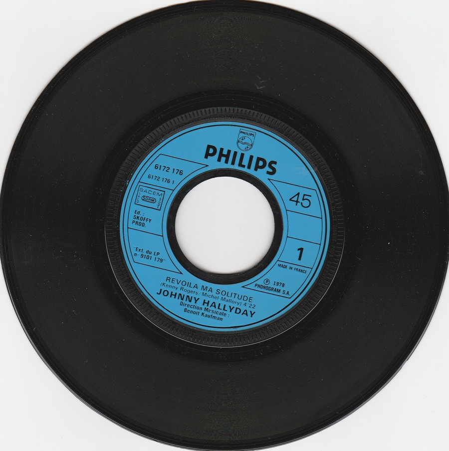 REVOILA MA SOLITUDE ( EP-SP )( TOUTES LES EDITIONS )( 1978 ) 1978_424