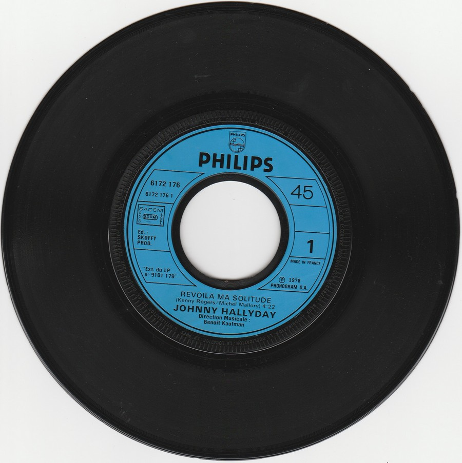 REVOILA MA SOLITUDE ( EP-SP )( TOUTES LES EDITIONS )( 1978 ) 1978_430