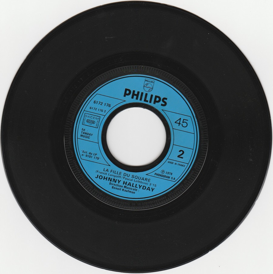 REVOILA MA SOLITUDE ( EP-SP )( TOUTES LES EDITIONS )( 1978 ) 1978_431