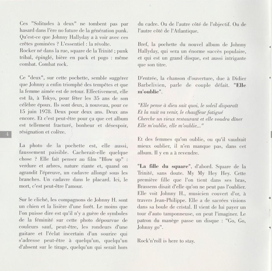 COLLECTION DES 40 ALBUMS CD ( UNIVERSAL )( 2000 ) 2EME PARTIE 1978_s71