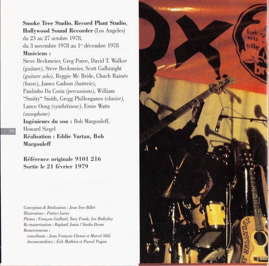 COLLECTION DES 40 ALBUMS CD ( UNIVERSAL )( 2000 ) 2EME PARTIE 1979_h23