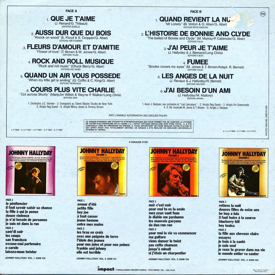 33 TOURS IMPACT ( Toute les éditions )( 1979-1985 ) 1980_038
