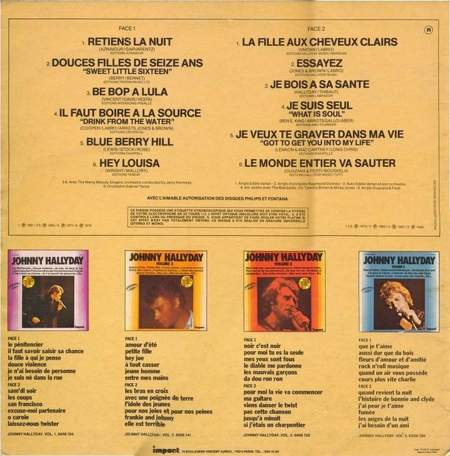 33 TOURS IMPACT ( Toute les éditions )( 1979-1985 ) 1980_071