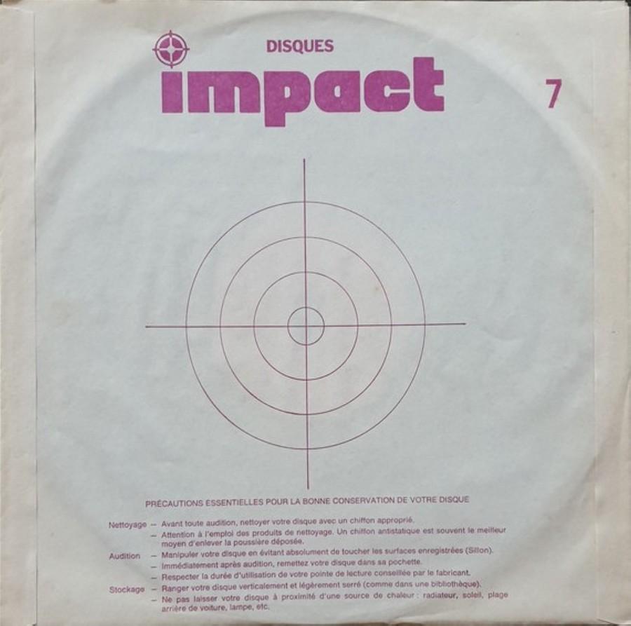 COFFRET 4 DISQUES 33 TOURS IMPACT ( 1980-1983 ) 1980_434