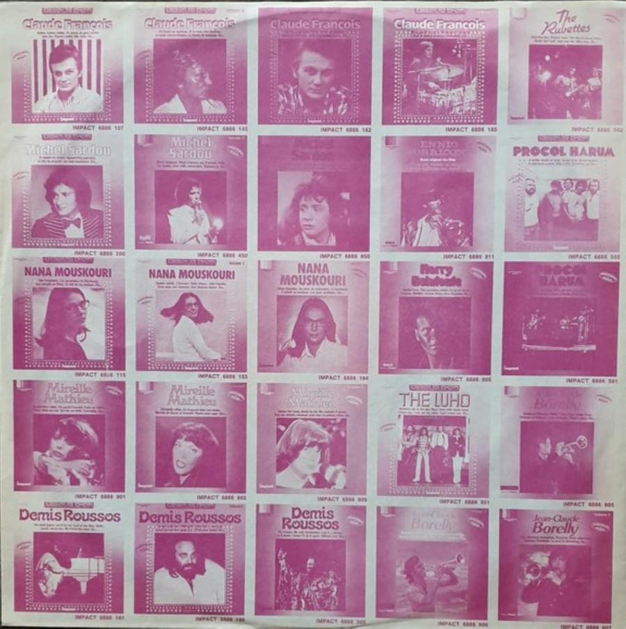 COFFRET 4 DISQUES 33 TOURS IMPACT ( 1980-1983 ) 1980_438