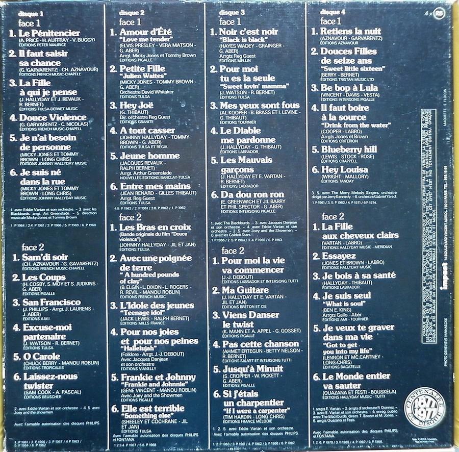 COFFRET 4 DISQUES 33 TOURS IMPACT ( 1980-1983 ) 1980_439
