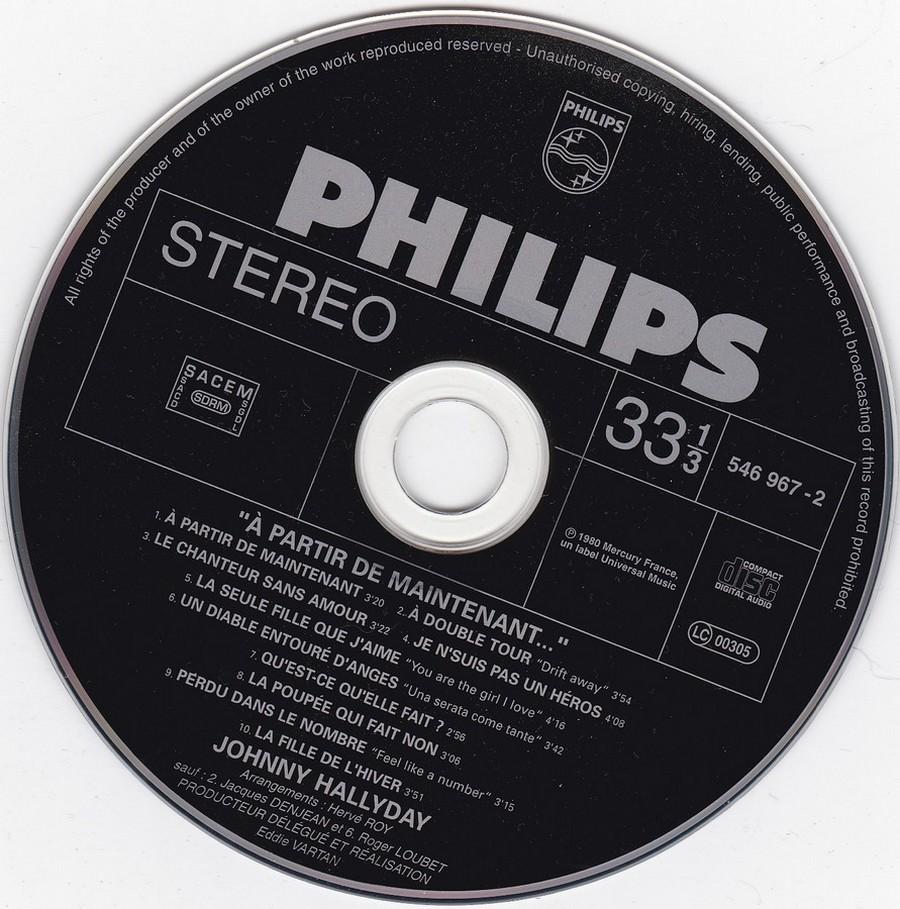 COLLECTION DES 40 ALBUMS CD ( UNIVERSAL )( 2000 ) 2EME PARTIE 1980_a12