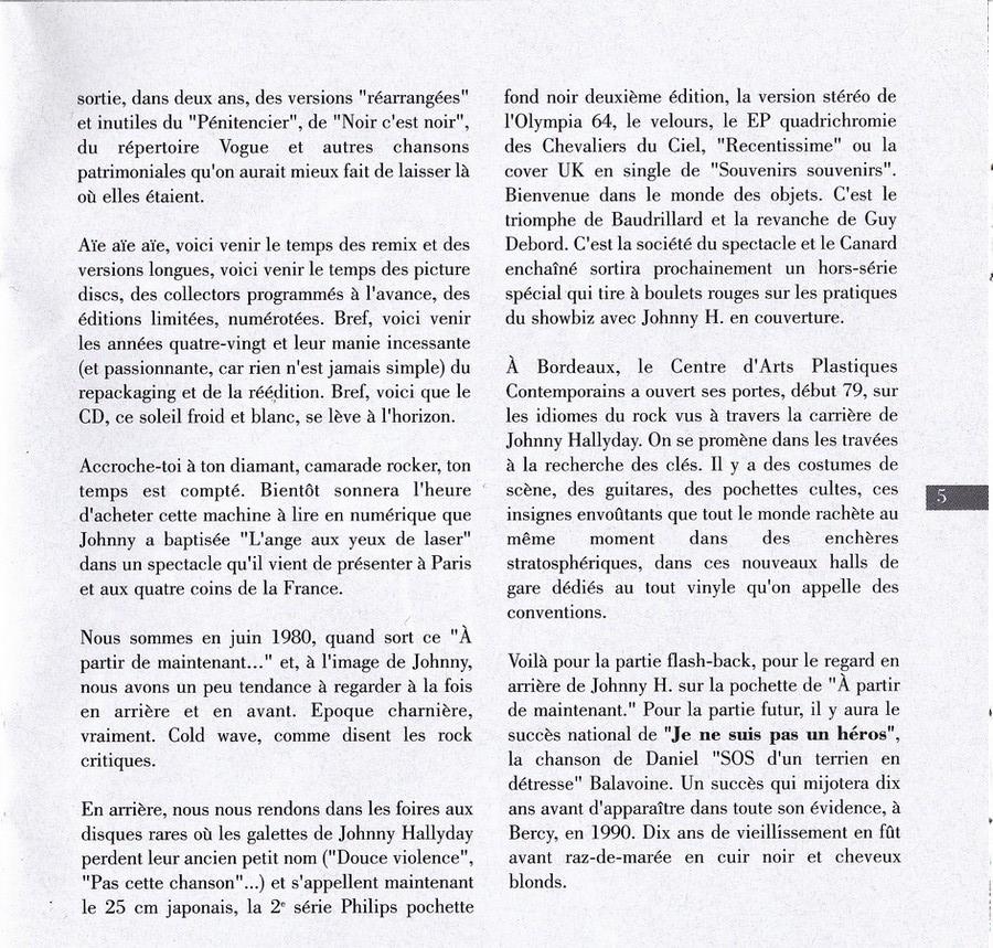 COLLECTION DES 40 ALBUMS CD ( UNIVERSAL )( 2000 ) 2EME PARTIE 1980_a18