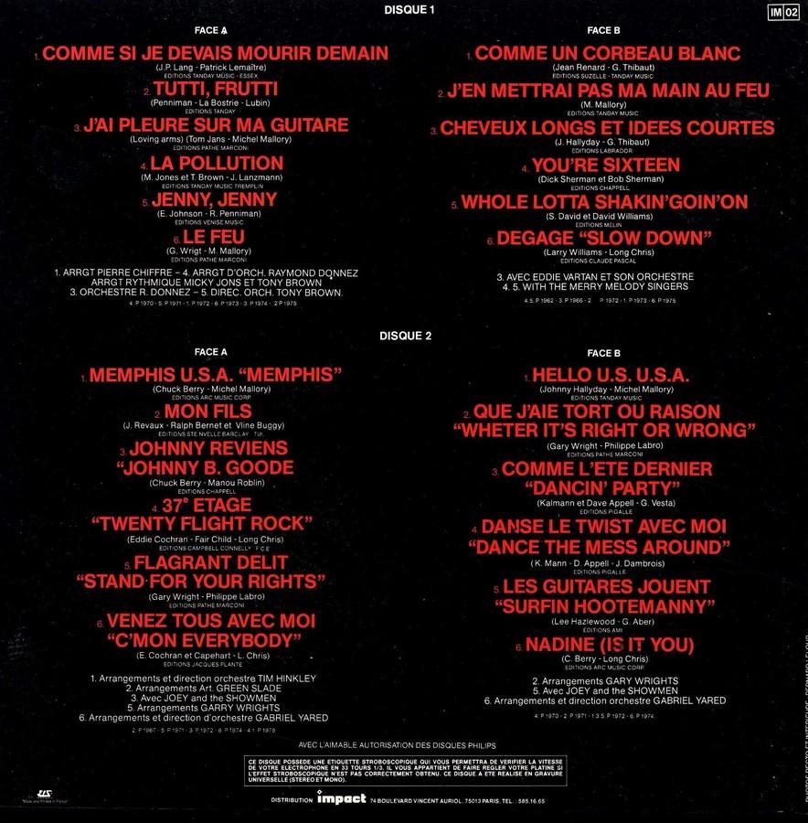 33 TOURS ALBUM 2 DISQUES IMPACT ( Toute les éditions )( 1980-1983 ) 1980_c25