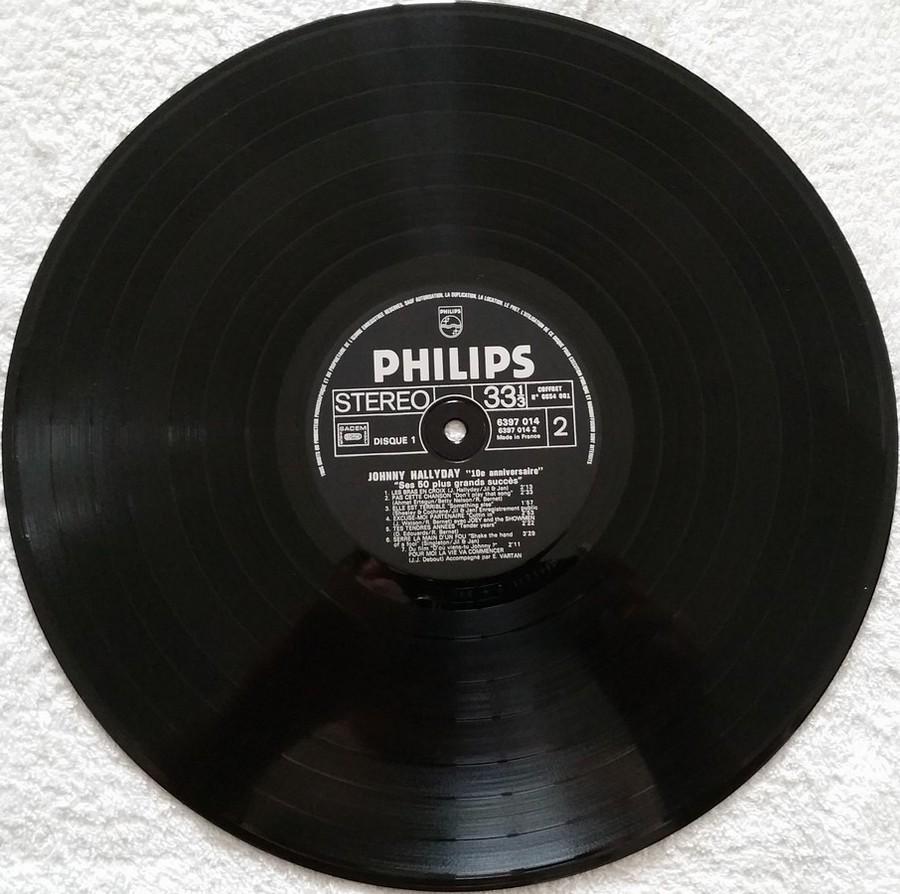 COFFRET 4 33 TOURS 'DIX ANS DE MA VIE' ( Philips )( 1970 & 1980 ) 1980_d21