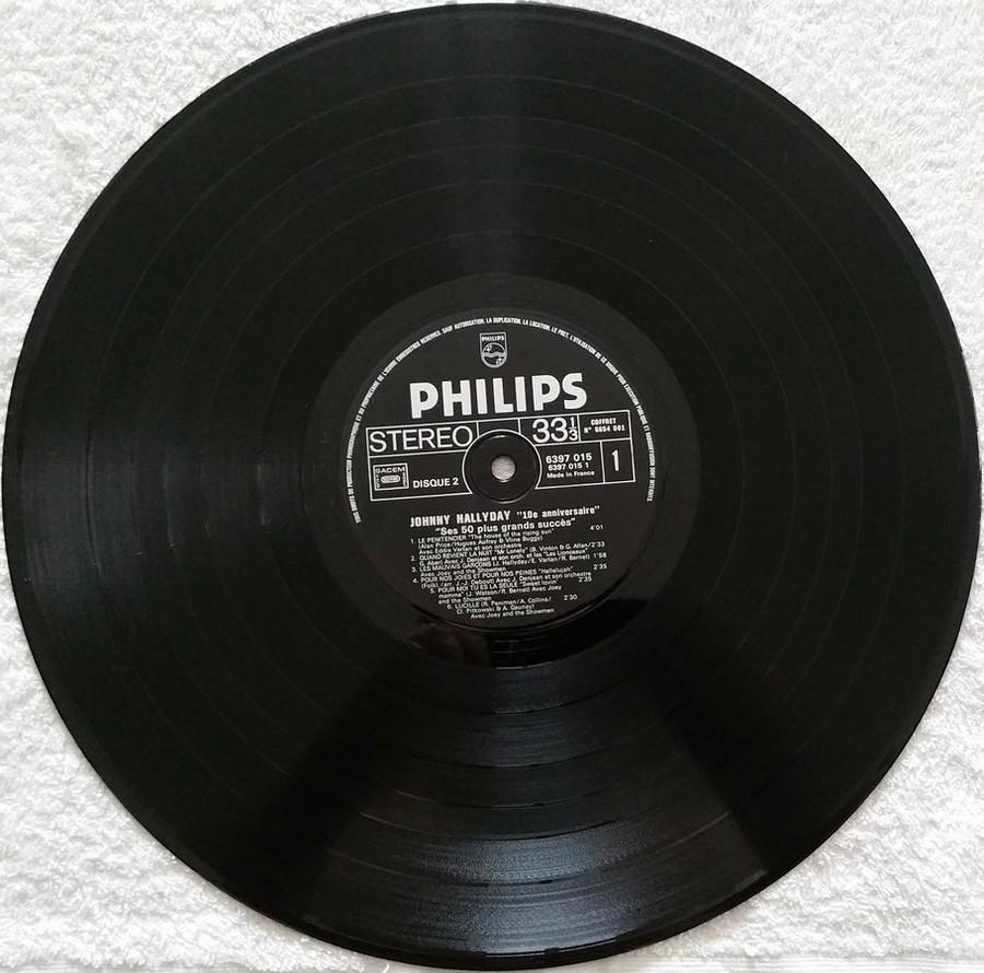 COFFRET 4 33 TOURS 'DIX ANS DE MA VIE' ( Philips )( 1970 & 1980 ) 1980_d23