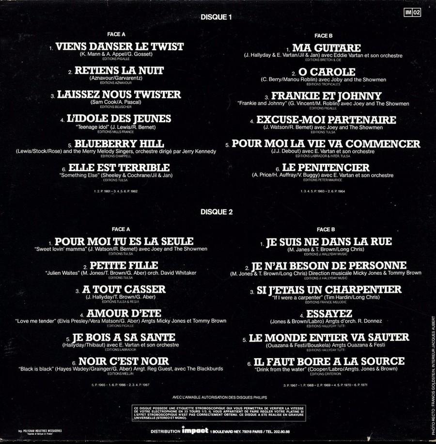 33 TOURS ALBUM 2 DISQUES IMPACT ( Toute les éditions )( 1980-1983 ) 1980_v33