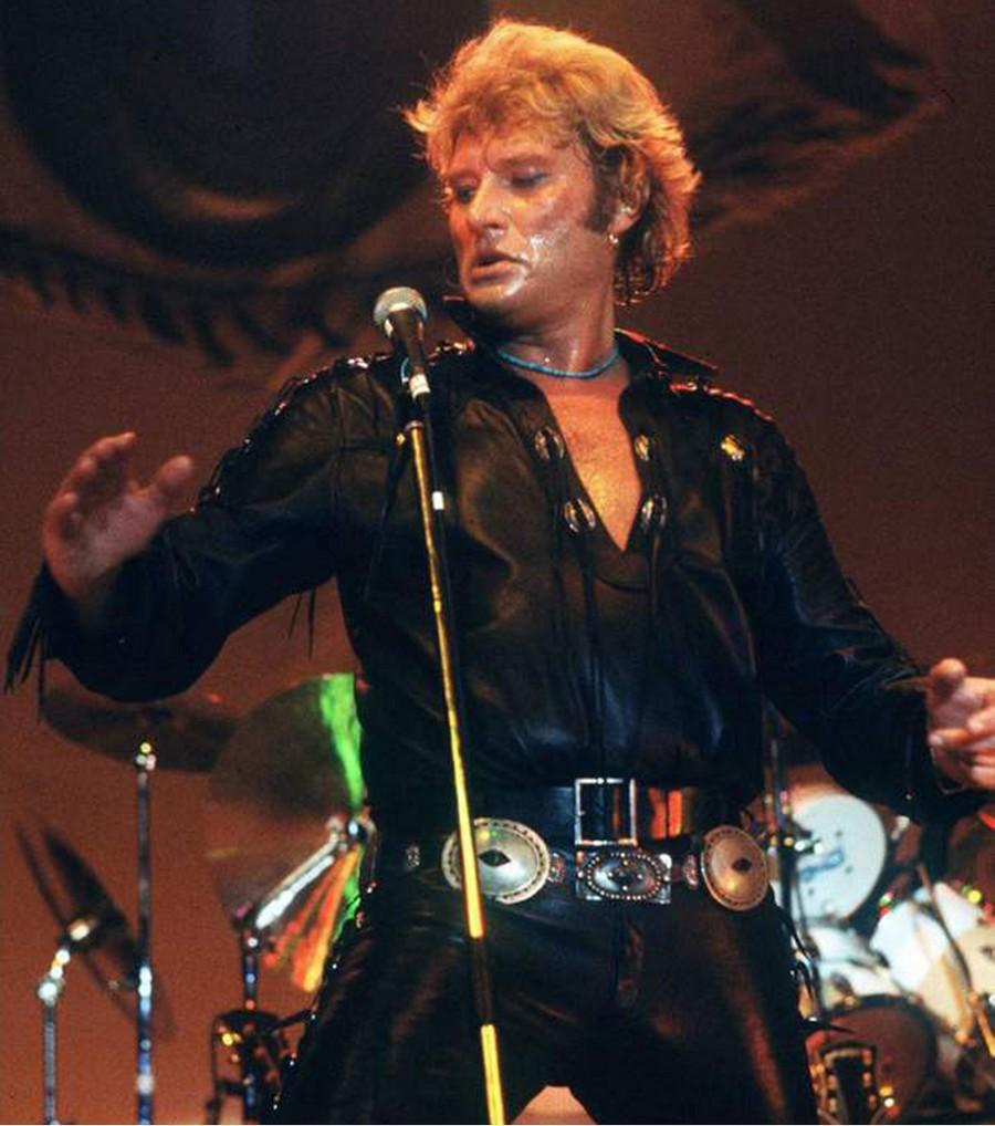 LES CONCERTS DE JOHNNY 'TOURNEE NIGHT RIDER BAND TOUR 1981' 1981-l13