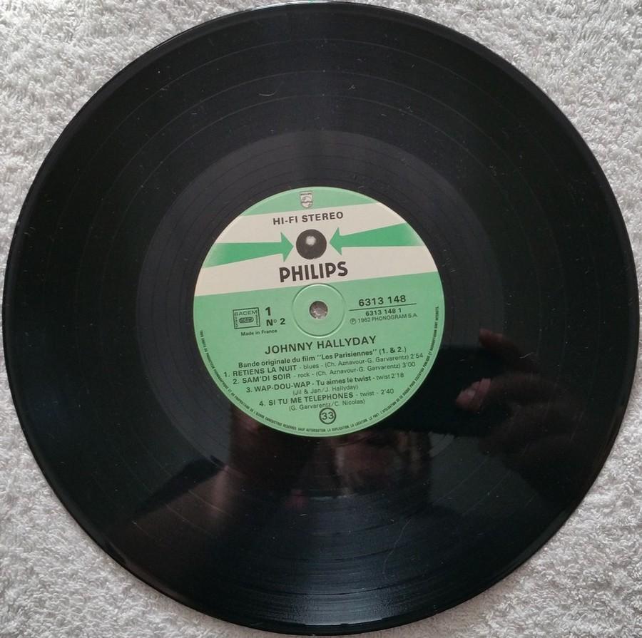 RETIENS LA NUIT ( 25cm )( TOUTE LES EDITIONS )( 1962-2003 ) 1982_055