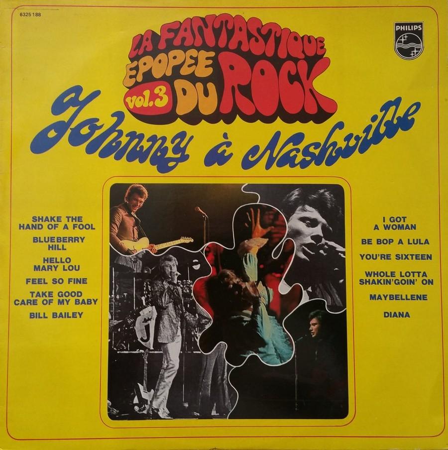 JOHNNY HALLYDAY A NASHVILLE ( 33 TOURS )( TOUTES LES EDITIONS )( 1968 - 1982 ) 1982_j32