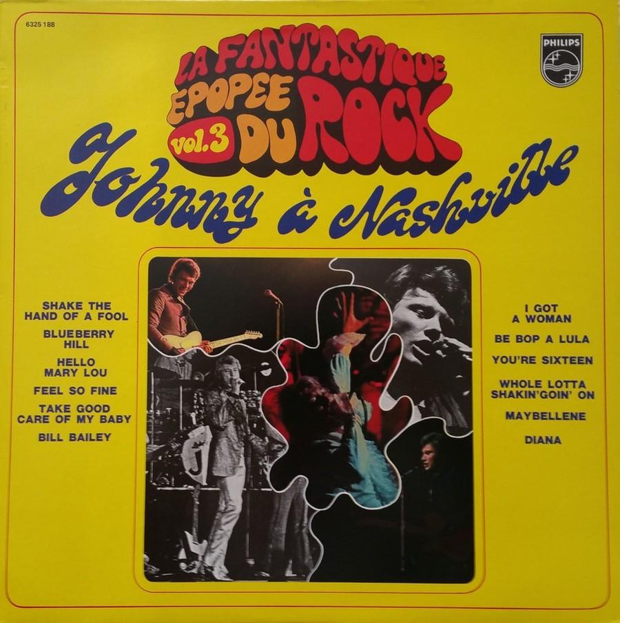 JOHNNY HALLYDAY A NASHVILLE ( 33 TOURS )( TOUTES LES EDITIONS )( 1968 - 1982 ) 1982_j34