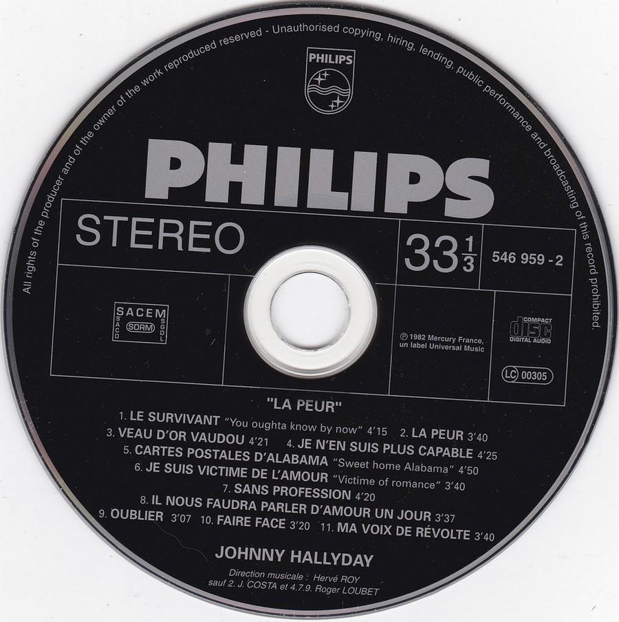 COLLECTION DES 40 ALBUMS CD ( UNIVERSAL )( 2000 ) 2EME PARTIE 1982_l11