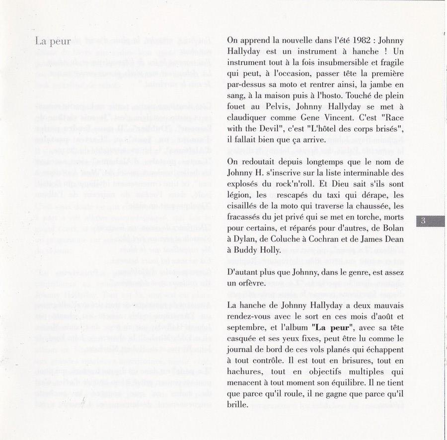 COLLECTION DES 40 ALBUMS CD ( UNIVERSAL )( 2000 ) 2EME PARTIE 1982_l16