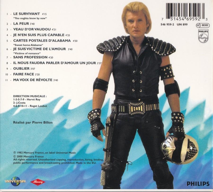 COLLECTION DES 40 ALBUMS CD ( UNIVERSAL )( 2000 ) 2EME PARTIE 1982_l26