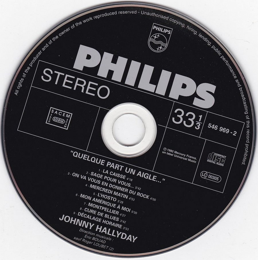 COLLECTION DES 40 ALBUMS CD ( UNIVERSAL )( 2000 ) 2EME PARTIE 1982_q10