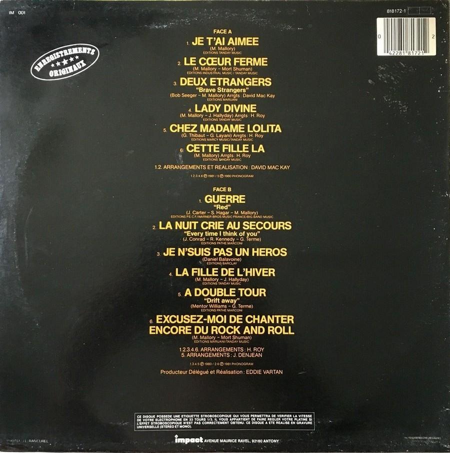 33 TOURS IMPACT ( Toute les éditions )( 1979-1985 ) 1983_034