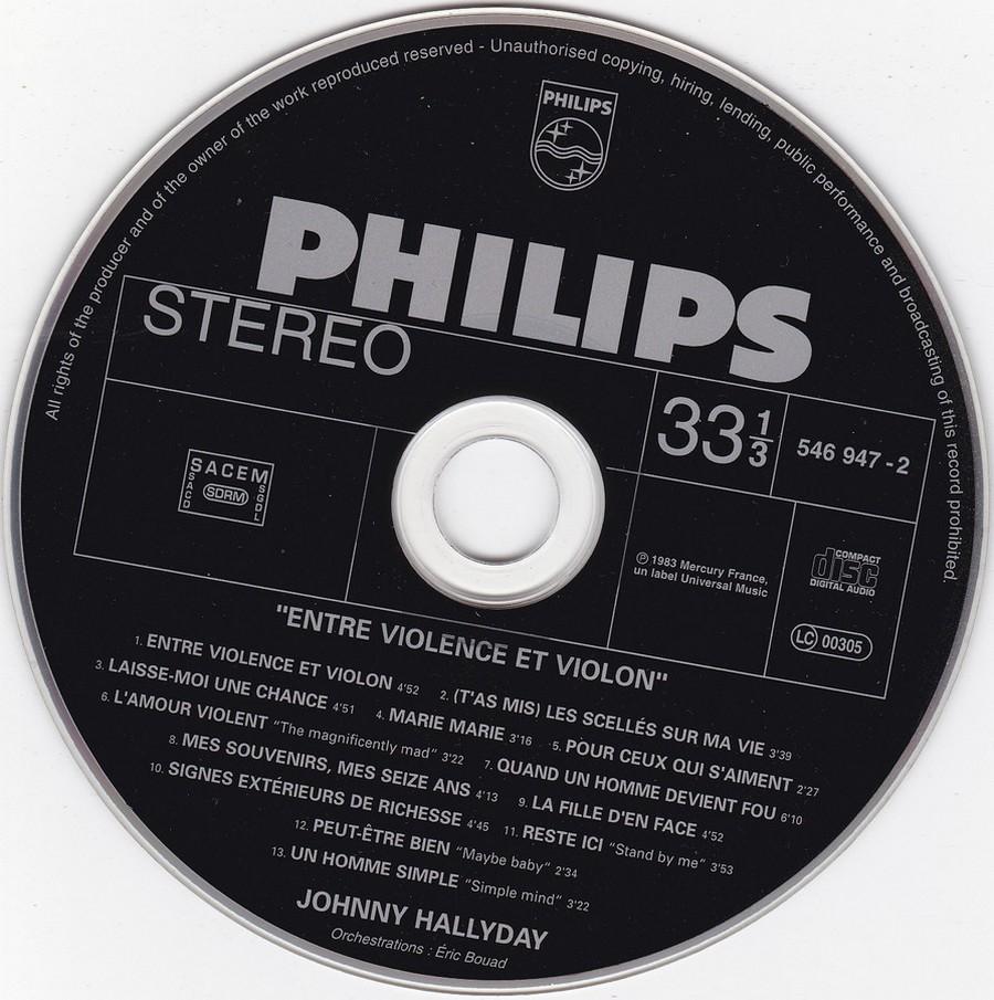 COLLECTION DES 40 ALBUMS CD ( UNIVERSAL )( 2000 ) 2EME PARTIE 1983_e12