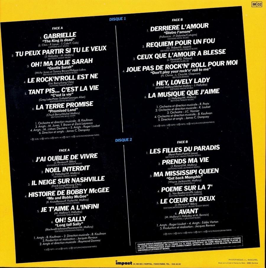 33 TOURS ALBUM 2 DISQUES IMPACT ( Toute les éditions )( 1980-1983 ) 1983_g17