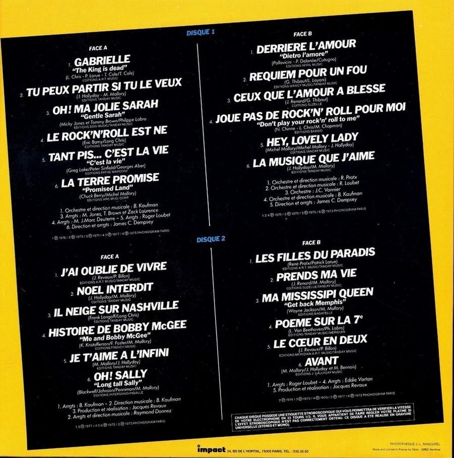 33 TOURS ALBUM 2 DISQUES IMPACT ( Toute les éditions )( 1980-1983 ) 1983_g18