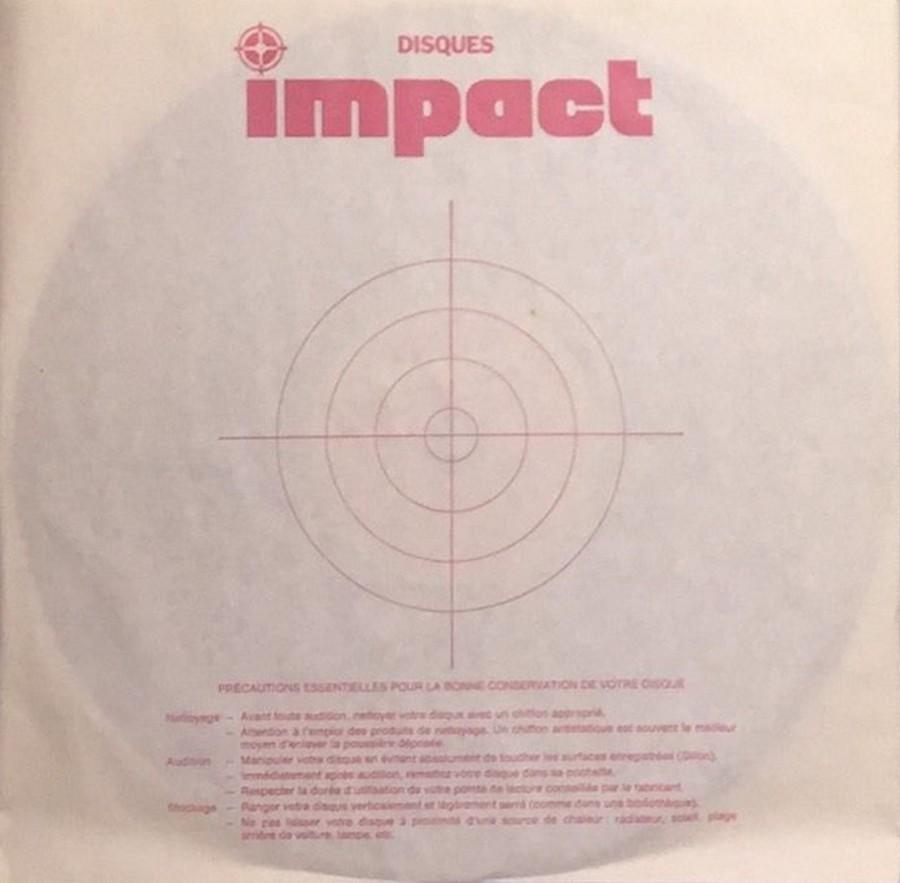 COFFRET 4 DISQUES 33 TOURS IMPACT ( 1980-1983 ) 1983_j13