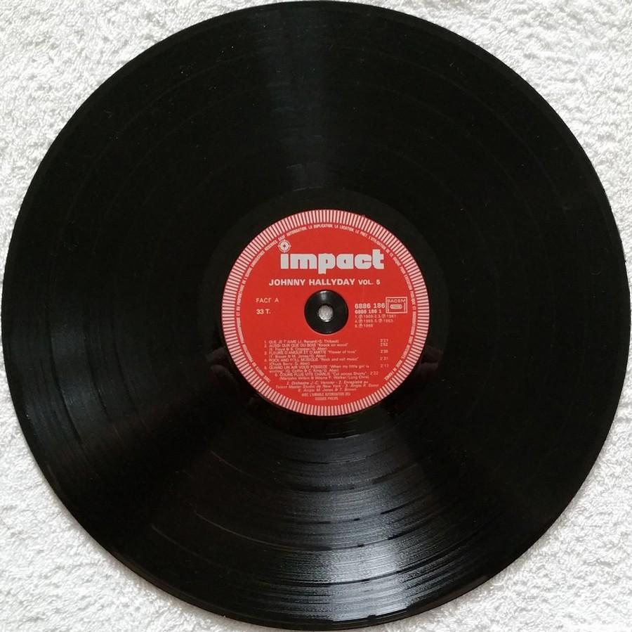 COFFRET 4 DISQUES 33 TOURS IMPACT ( 1980-1983 ) 1983_j16