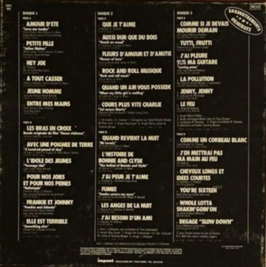 COFFRET 4 DISQUES 33 TOURS IMPACT ( 1980-1983 ) 1983_j21